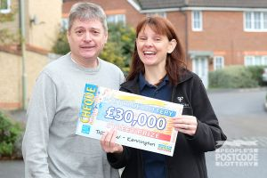 Claire and her husband Neil also picked up a whopping £30,000
