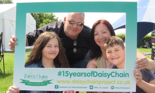 Daisy Chain is celebrating 15 years of supporting families affected by autism