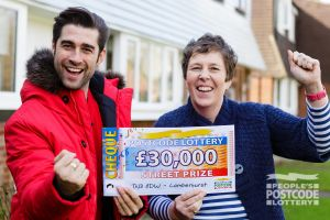 Suzann said she was over the moon to find out how much she had won