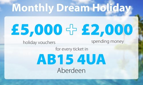 Two lucky Aberdeen players are in for a treat after scooping this month's Dream Holiday prize