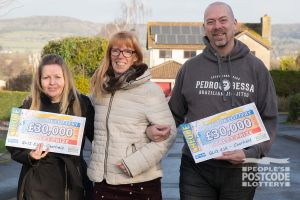 The Street Prize winners are in for a fantastic Christmas after picking up £30,000 cheques