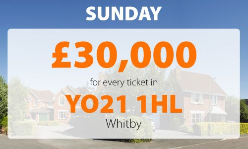 Two Whitby winners have scooped £30,000 each