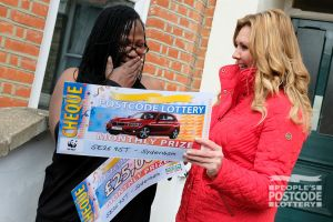 Sydenham winner Jennifer wasn't expecting to win a brand new BMW as well!