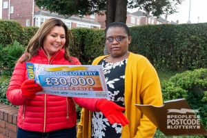 Margaret couldn't believe her prize. She thought she was going to win £1,000 - instead it was £30,000!