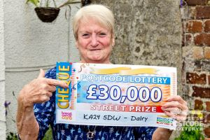 Jane is looking forward to getting a new automatic car thanks to her winnings