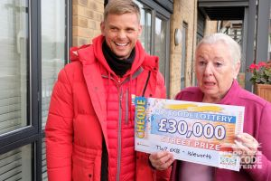 Shirley was shocked into silence when she saw her cheque!