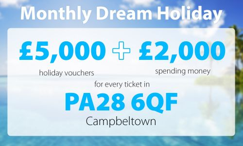 Three lucky players have landed Dream Holidays thanks to their postcode