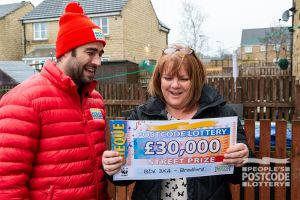 Joanne was ecstatic when she found out she had won £30,000