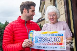 Our winner Ethel only started playing this year - now she's won £30,000!