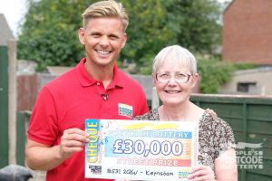 Jeff Brazier with Keynsham winner Jillian