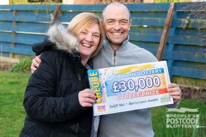 Clare says a family holiday is the first treat she'll use her winnings on