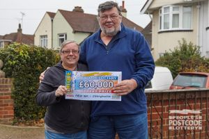 Martin and his wife Julie are looking forward to a spectacular Christmas with their winnings