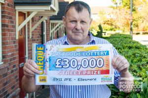 Mark is looking forward to getting a new car thanks to his winnings
