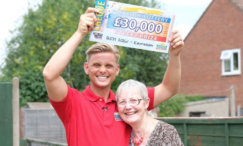 Two lucky players from Keynsham scooped a whopping £30,000 each in Saturday's Street Prize