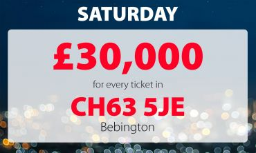 Two lucky Bebington players have picked up £30,000 prizes