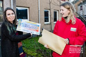 Daniele was over the moon when she discovered she had won £30,000