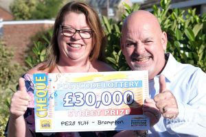 Tracey is excited to be able to take husband Terry on a Caribbean cruise thanks to the win