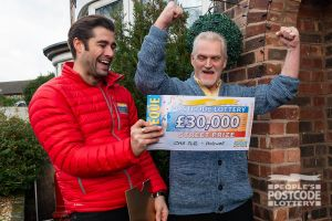 Robert was overjoyed with his win and he's planning to go on a camping holiday in Wales with his winnings