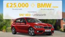 Four lucky Littleworth players have picked up £25,000 prizes each, and one will drive away a new BMW
