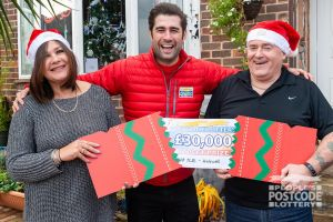 Jane, who was joined by her husband Colin, was over the moon with her cash prize