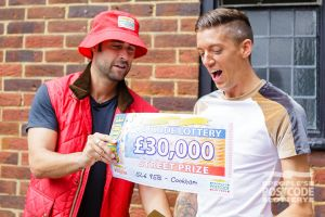 Matt Johnson reveals Spencer's prize - a superb £30,000!