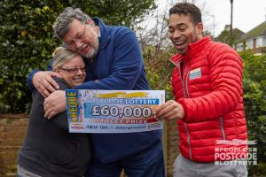 Martin was over the moon when he saw his cheque for £60,000