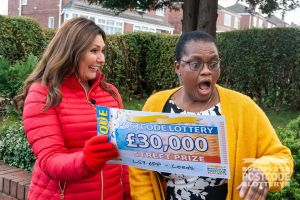 This £30,000 win is also extra-special as it comes on her birthday!