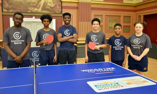 Last year, Greenhouse Sports delivered over 10,000 hours of sport and mentoring sessions to young people in need