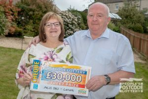2. Marilyn and husband Gerry recently celebrated their Ruby Wedding Anniversary and plan to go somewhere special with their winnings