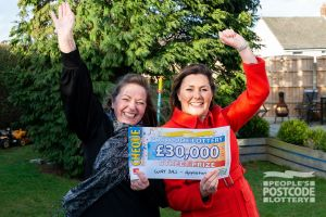 Suzanne was ecstatic with her £30,000 prize