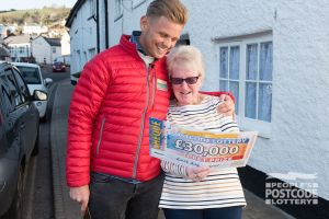 Mary was shocked to find out she had won £30,000