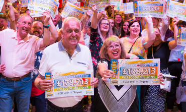 Over 870 Torquay residents scooped a share of an incredible £3 Million
