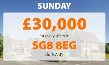 Three neighbours in Barkway are having a great day after picking up £30,000 cheques.