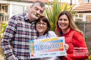 Jacqueline and her husband Ronald really want to visit their daughter in New Zealand with their winnings
