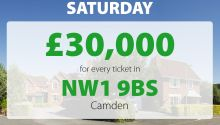 Two lucky Camden winners won an amazing £30,000 each in Saturday's Street Prize