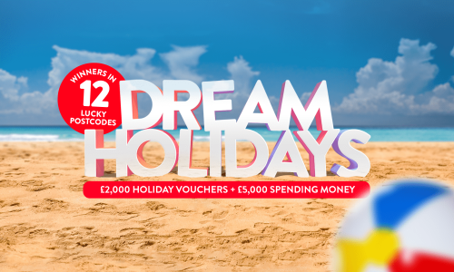 Players in 12 postcodes have scooped Dream Holiday prizes!