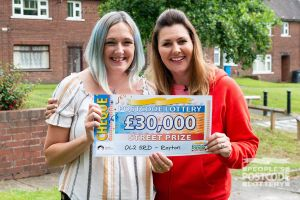 Carly plans to make some home improvements and enjoy a holiday abroad with her winnings.