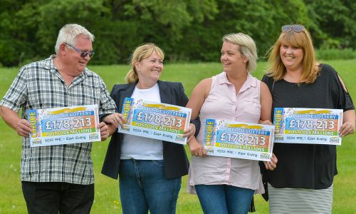 Over 330 East Riding residents shared an incredible £3 Million prize