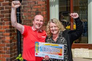 With an impending house move, Louise and husband David's wonderful cheque couldn't have come at a better time