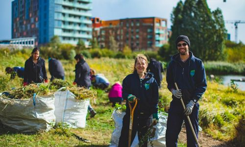 Player funding is helping TCV to increase the skills of their volunteers and help green spaces along the way