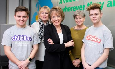 Dame Esther Rantzen highlighted the huge difference that player funding is making to Childline