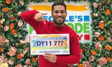Our latest Postcode Millions prize is heading to lucky postcode sector DY11 7 in Kidderminster