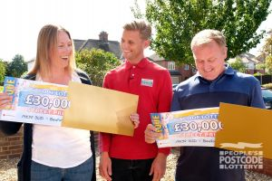 Our lucky Bedford winners Louise and Steven find out exactly how much they have won