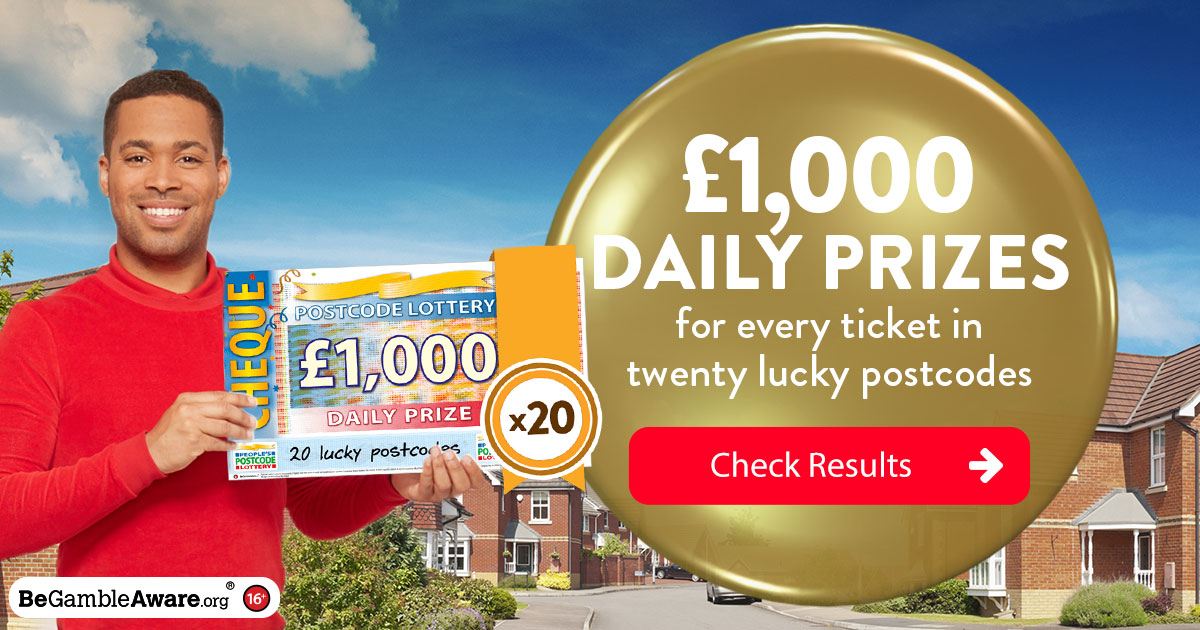 Daily Prizes | People's Postcode Lottery