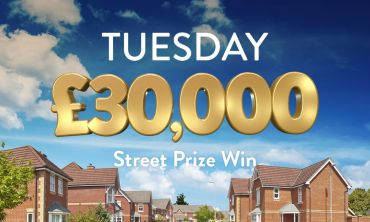 Every lucky ticket wins £30,000 in today's Street Prize