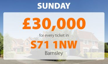 Today's £30,000 Street Prize has brought a big smile to two lucky neighbours in Barnsley