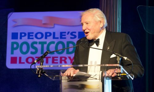 Sir David Attenborough was among those to pass on a message of thanks to our players