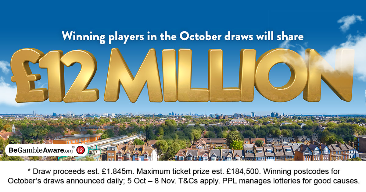 Win with People's Postcode Lottery   Home
