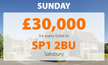 Two neighbours in a lucky postcode have won today's £30,000 Sunday Street Prize