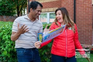 Ganesh was in shock when Judie revealed his fantastic £30,000 Street Prize